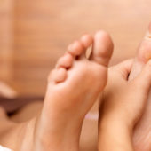 Reviving Foot Scrub with Massage