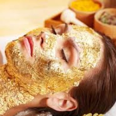 Eye treatment OR Lip Treatment with 24k gold mask or cold cryo algae mask